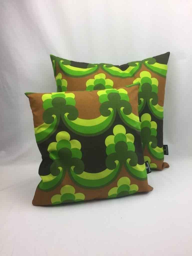 patroon groen bruin retro   Bastaa!