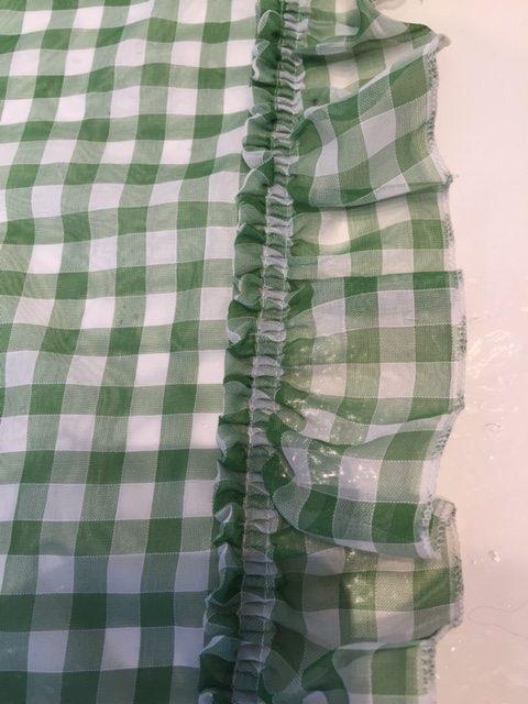 vitrage brabants bont groen wit