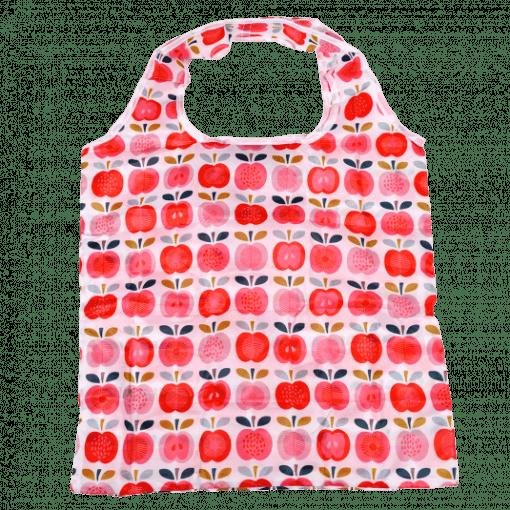 opvouwbaar tasje vintage appel