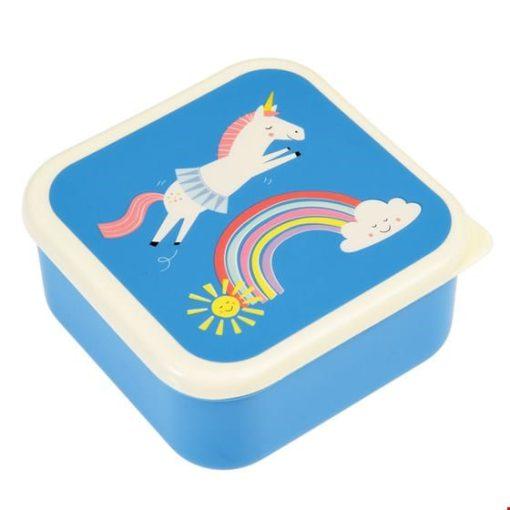 unicorn snackdoos 3 stuks