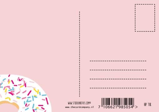 kaart achterkant
