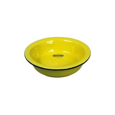schaaltje theezakje geel