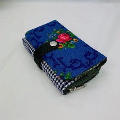 Dollie portemonnee retro huisteil handgemaakt