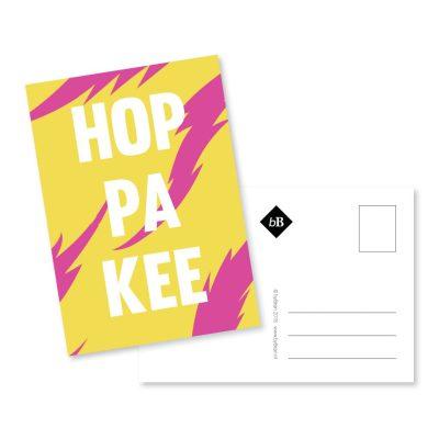 kaart hoppakee ansichtkaart