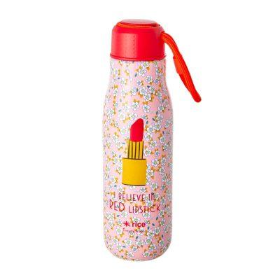 Thermosfles bloemen en lipstick rice 500 ml