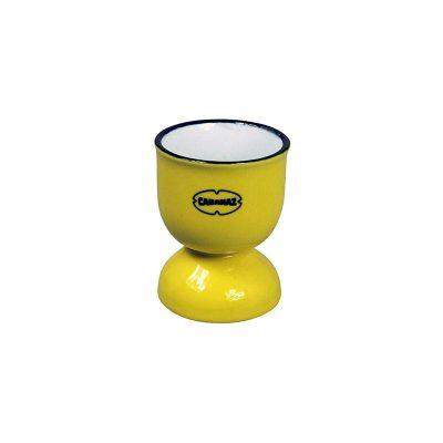 eierdop porselein geel