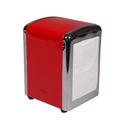 servethouder rood navulbaar retro