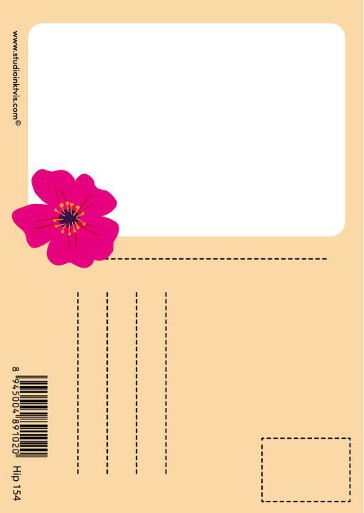 frida kahlo lama kaart achterkant