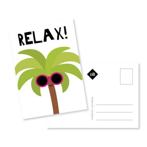 relax ansichtkaart grappig