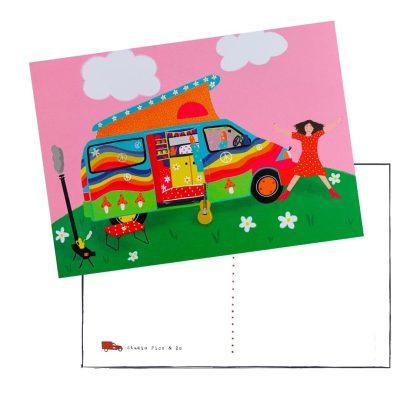 regenboog camper kaart