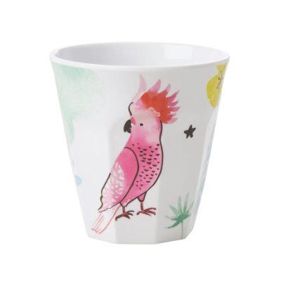 melamince cup cockatoe