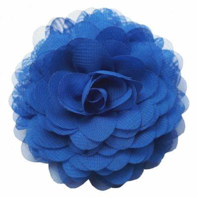 hippie broche bloem blauw