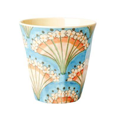 melamine cup bloemen waaier