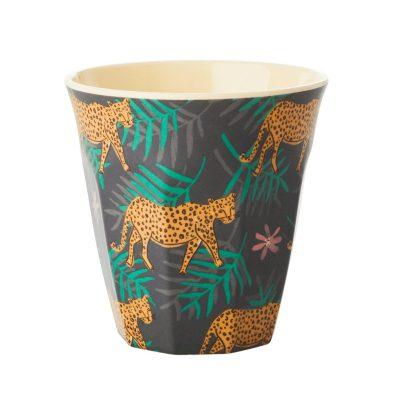 melamine beker luipaard
