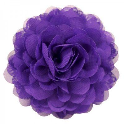 bloem paars broche