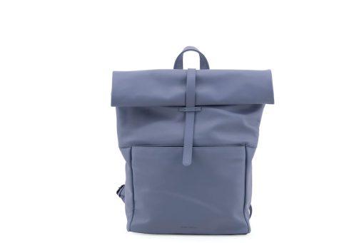 rugtas blauw vegan leather