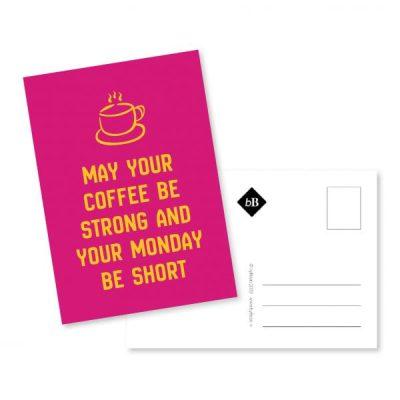 kaart koffie tijd