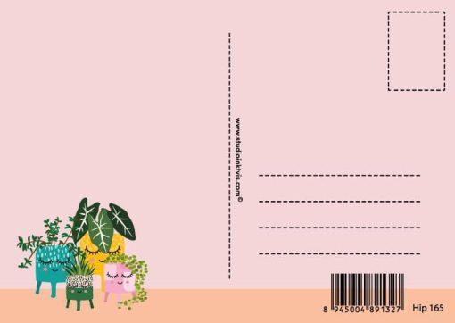 ansichtkaart planten