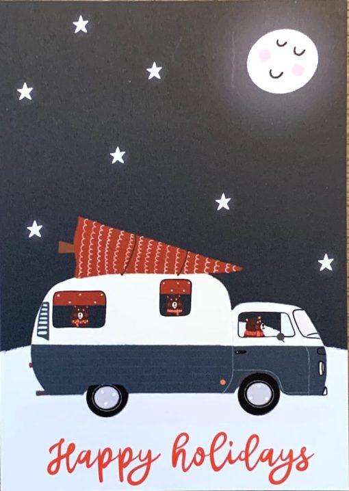 kerst vakantie kaart
