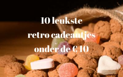 De 10 leukste retro schoencadeautjes onder de € 10