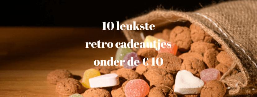 retro cadeautjes onder 10 euro