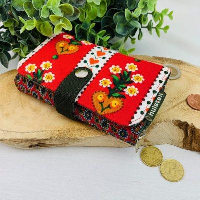handgemaakte portemonnee