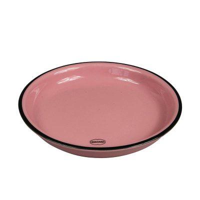 roze bordje klein keramiek