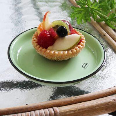 desert bordje klein