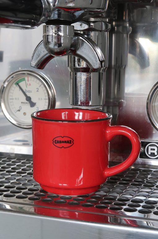espresso kopje rood cabanaz