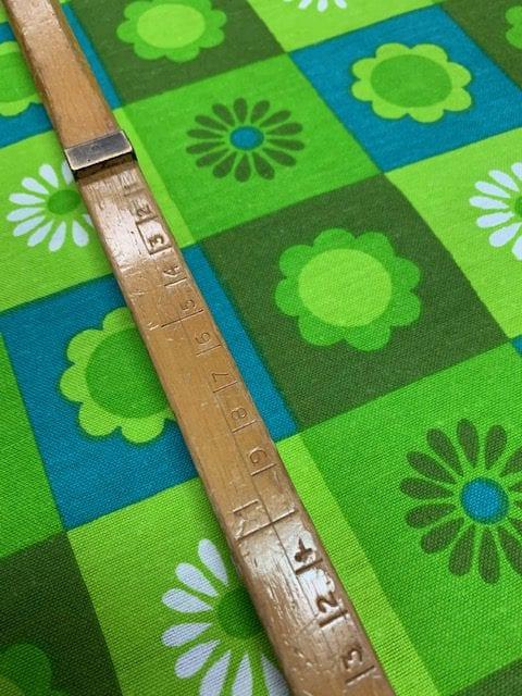 vintage stof groen
