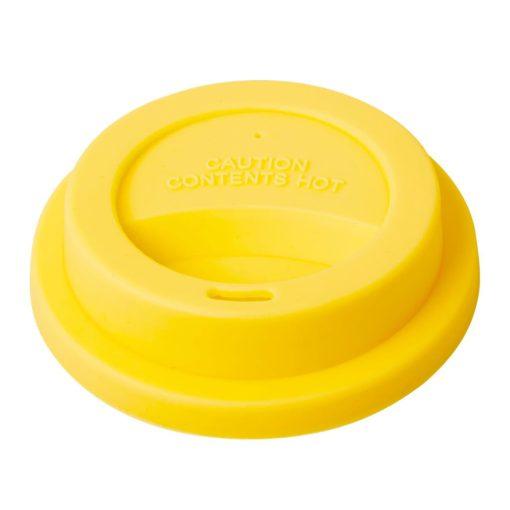 deksel melamine beker geel