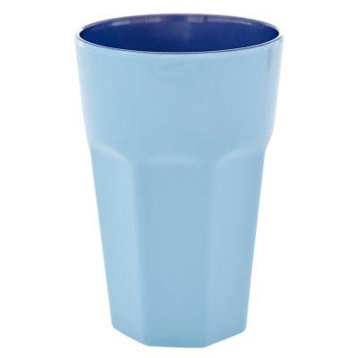 melamine beker tall blue
