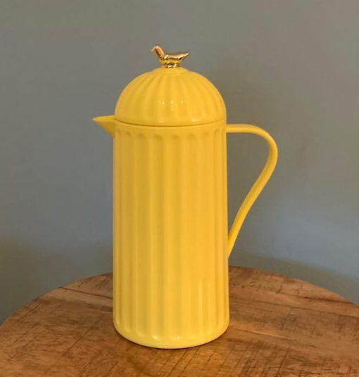 thermoskan 1 liter gouden vogeltje