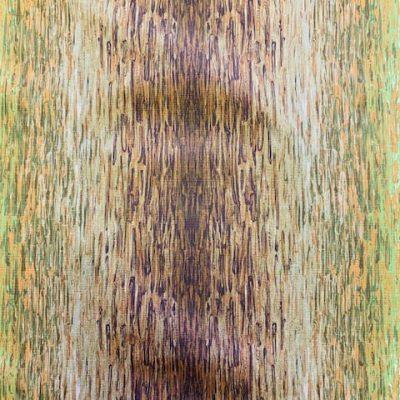 retro stof groen