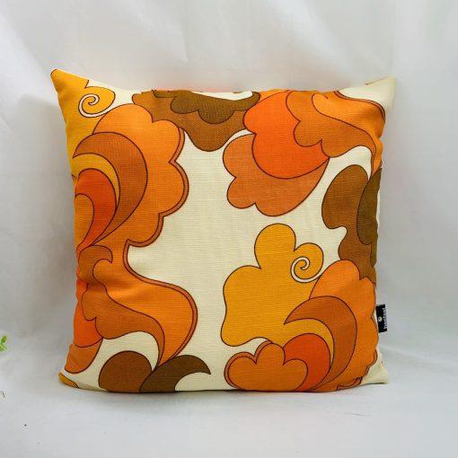 kussen oranje geel 50x50cm