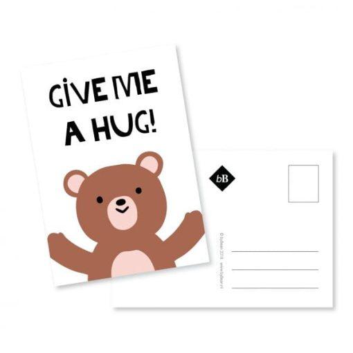 knuffel kaartje