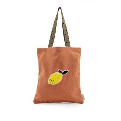 shopper oranje sticky lemon