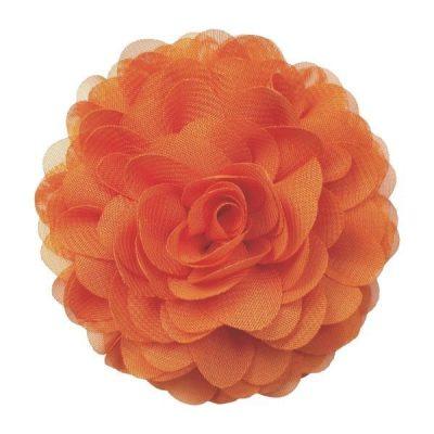 haarspeld bloem oranje