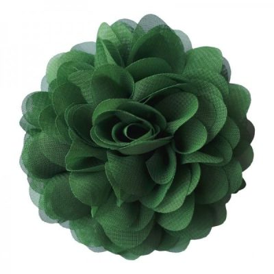 corsage groen haarspeld