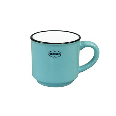 espresso kopje licht blauw