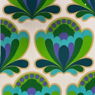 stof vintage groot patroon