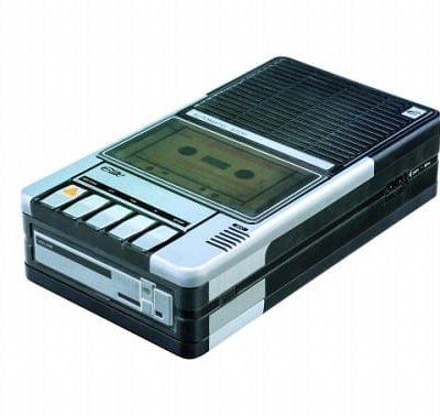 koektrommel cassette recorder retro