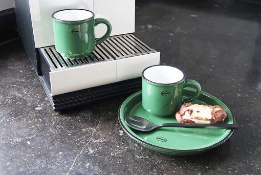 espresso kopje groen keramiek
