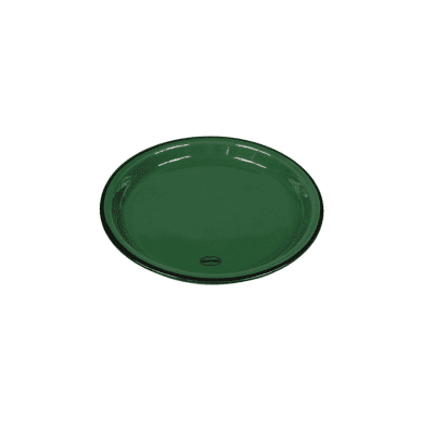 plate medium pine green