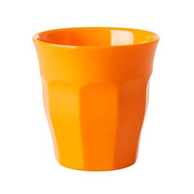 tangerine cup melamine medium