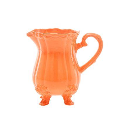 vaas keramiek oranje