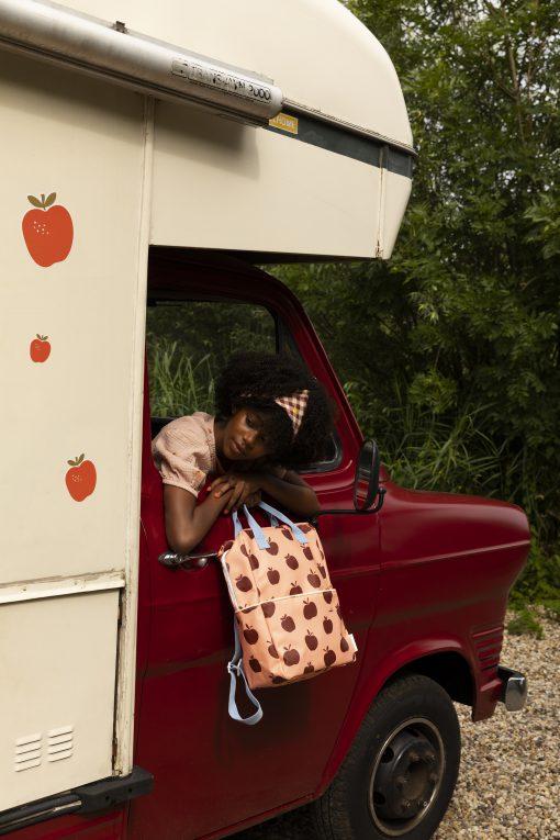 hippe rugtas met appels