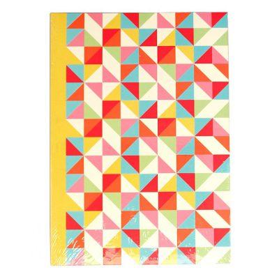 Geometric Multicolour A5