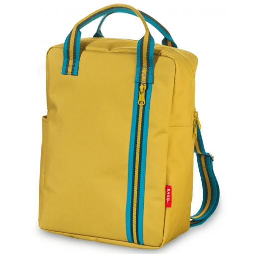 large backpack geel